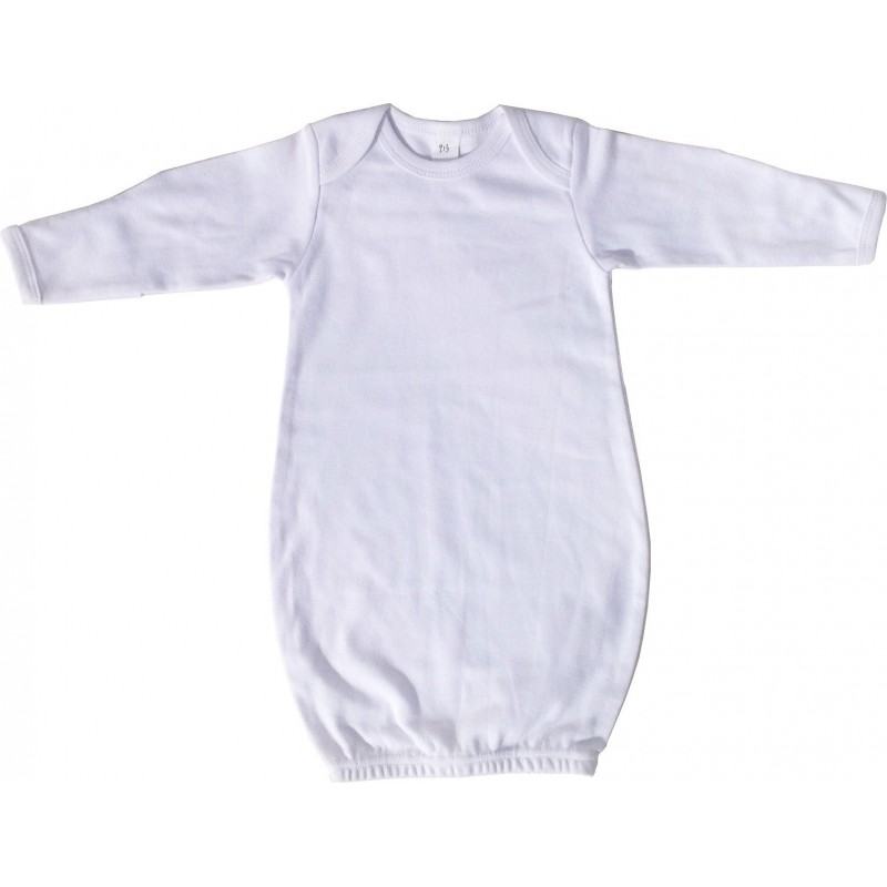 White Infant Gown