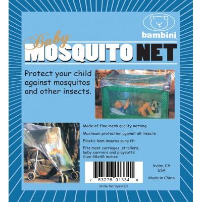 Mesh Play Pen & Stroller Mosquito Net