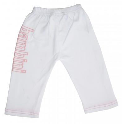 Interlock Sweat Pants with Bambini Print 421