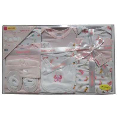 Preemie 10-Piece Interlock Pastel Boxed Gift Set