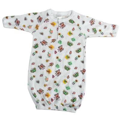 Printed Infant Gown