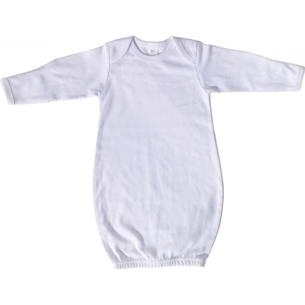 Pink Infant Gown made form interlock cotton