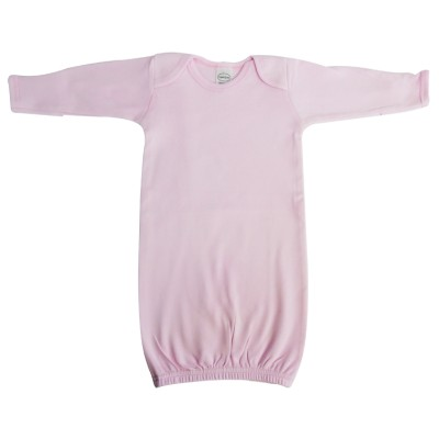 Pink Interlock Infant Gown - 913P