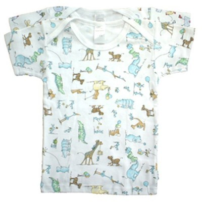 Bambini Boy's Interlock Print Short Sleeve T-Shirt 2-Pack