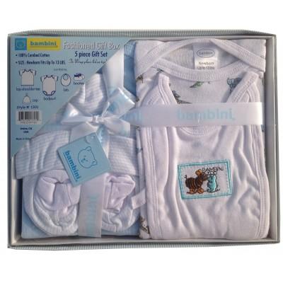 5-Piece Pastel Interlock Boxed Gift Set