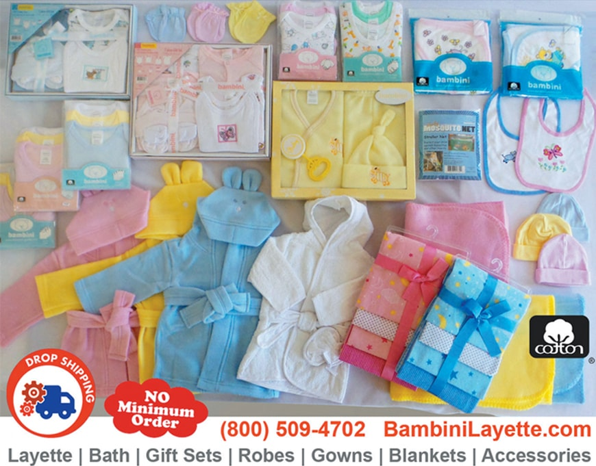 Bambini Infant Wear Baby Clothing Supplier for Amazon